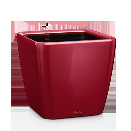 Lechuza Quadro 50 LS, All-in-One-Set, scarlet rot hochglanz
