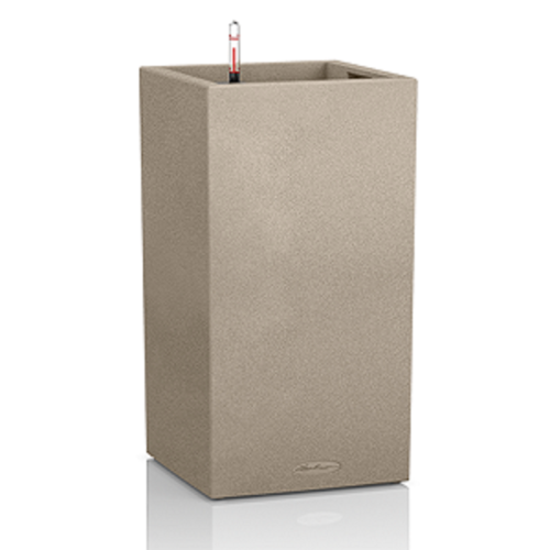 Lechuza Canto Stone Säule 40 high, All-in-One-Set, sandbeige